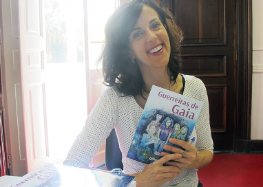 Gisele Mirabai e personagens do livro 'Guerreiras de Gaia' participarão da Bienal do Livro SP