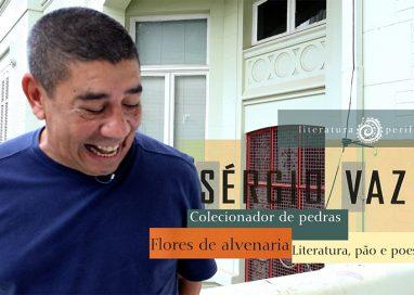 Poeta Sérgio Vaz de prosa na internet
