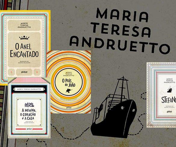 Marina Colasanti apresenta a obra de Maria Teresa Andruetto