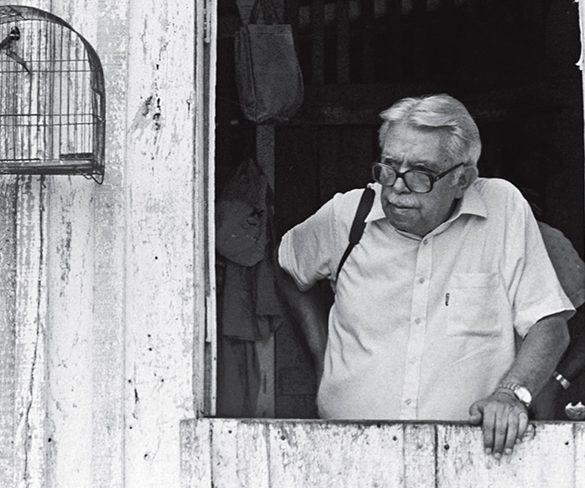 O cronista Rubem Braga, na lembrança dos amigos