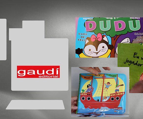 Colorido, educativo, divertido, o catálogo da Gaudí Editorial
