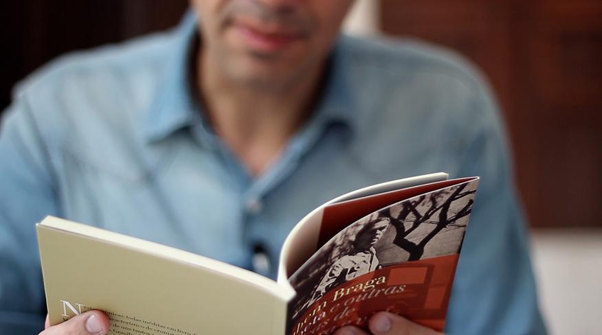 Gustavo Tuna fala sobre novo livro de Rubem Braga