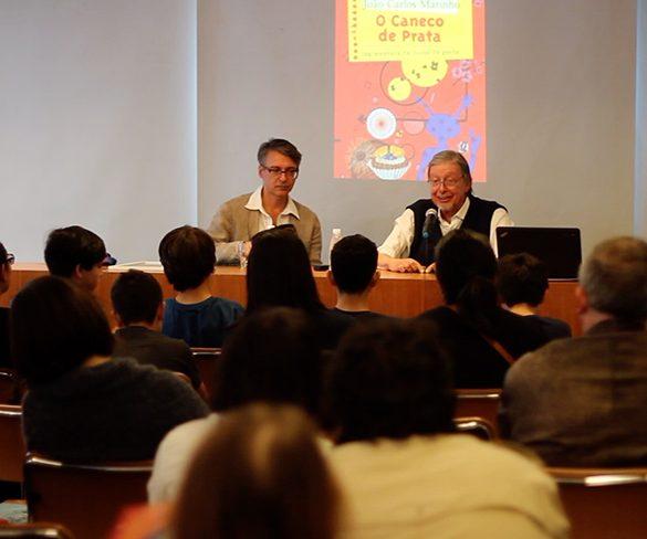 João Carlos Marinho celebra obra com leitores