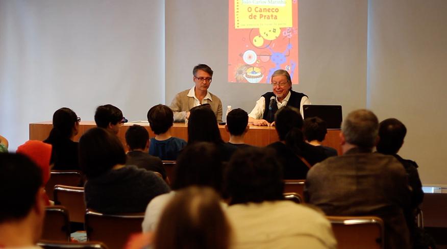 João Carlos Marinho em evento na Martins Fontes Paulista