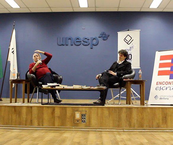 Loyola fala de novo romance na Universidade do Livro/Unesp