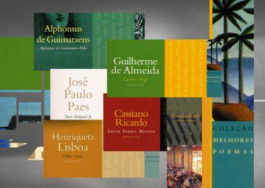 Seis poetas nascidos em julho na coleção Melhores Poemas