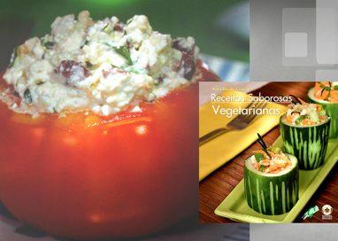 Receitas saborosas vegetarianas