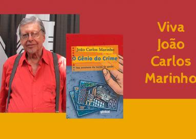 João Carlos Marinho ganha homenagem na Martins Fontes
