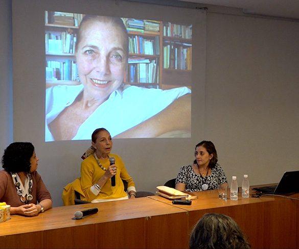 Marina Colasanti recebe homenagem na Livraria Martins Fontes
