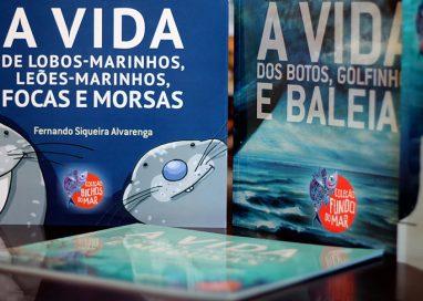 A vida dos mares para crianças em quatro livros