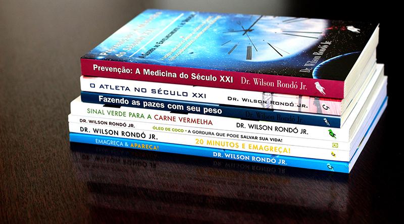 Saúde com inteligência nos livros do Dr. Wilson Rondó Jr.
