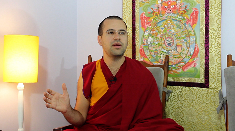 Lama Michel: o monge e o rabino